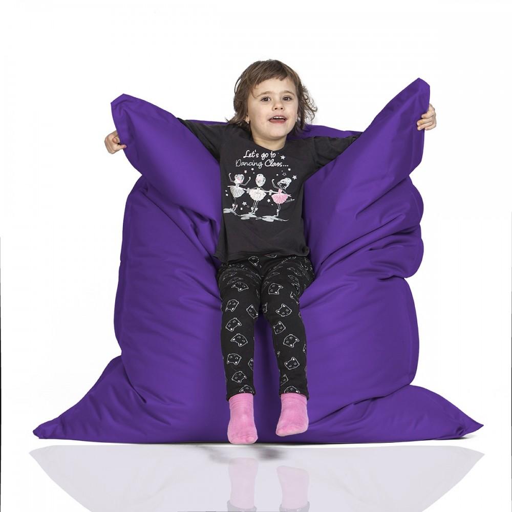 CrazyShop Sedací vak KIDS, fialový