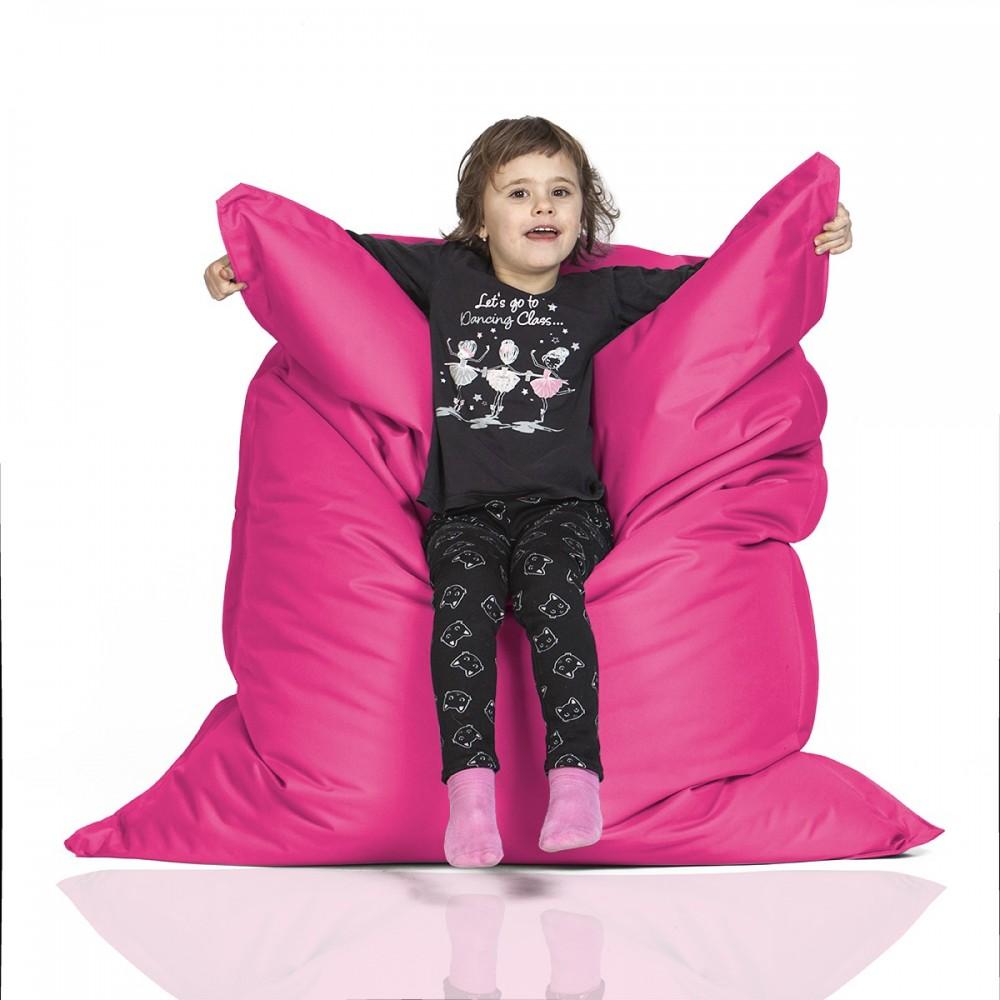 CrazyShop Sedací vak KIDS, ružový