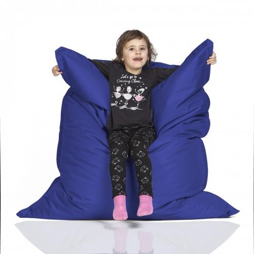 CrazyShop Sedací vak KIDS, tmavo modrý