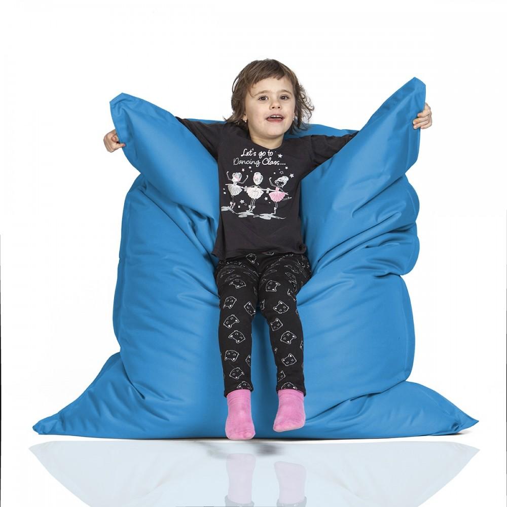 CrazyShop Sedací vak KIDS, modrý