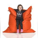 CrazyShop Sedací vak KIDS, oranžový