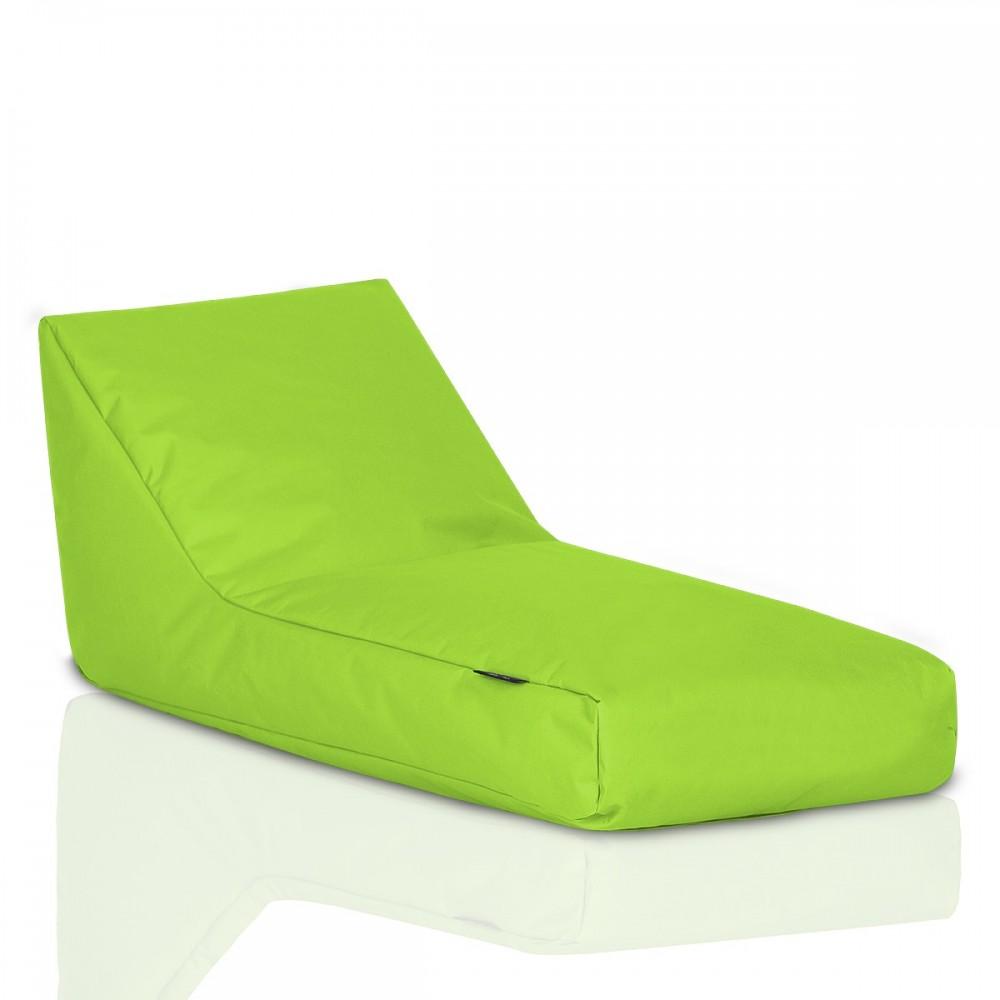 CRAZYSHOP Lehátko Standard, neónovo zelená