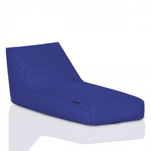 CRAZYSHOP Lehátko Standard, tmavo modrá