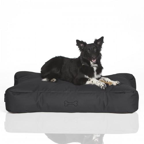 CRAZYSHOP psie matrace KOST, tmavo šedá