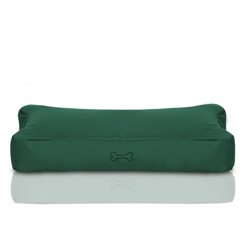 CRAZYSHOP psie matrace KOST, tmavo zelená