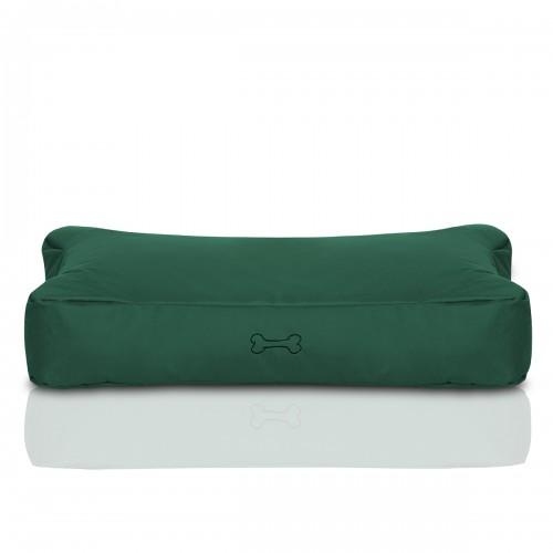 CRAZYSHOP psie matrace KOST S, tmavo zelená