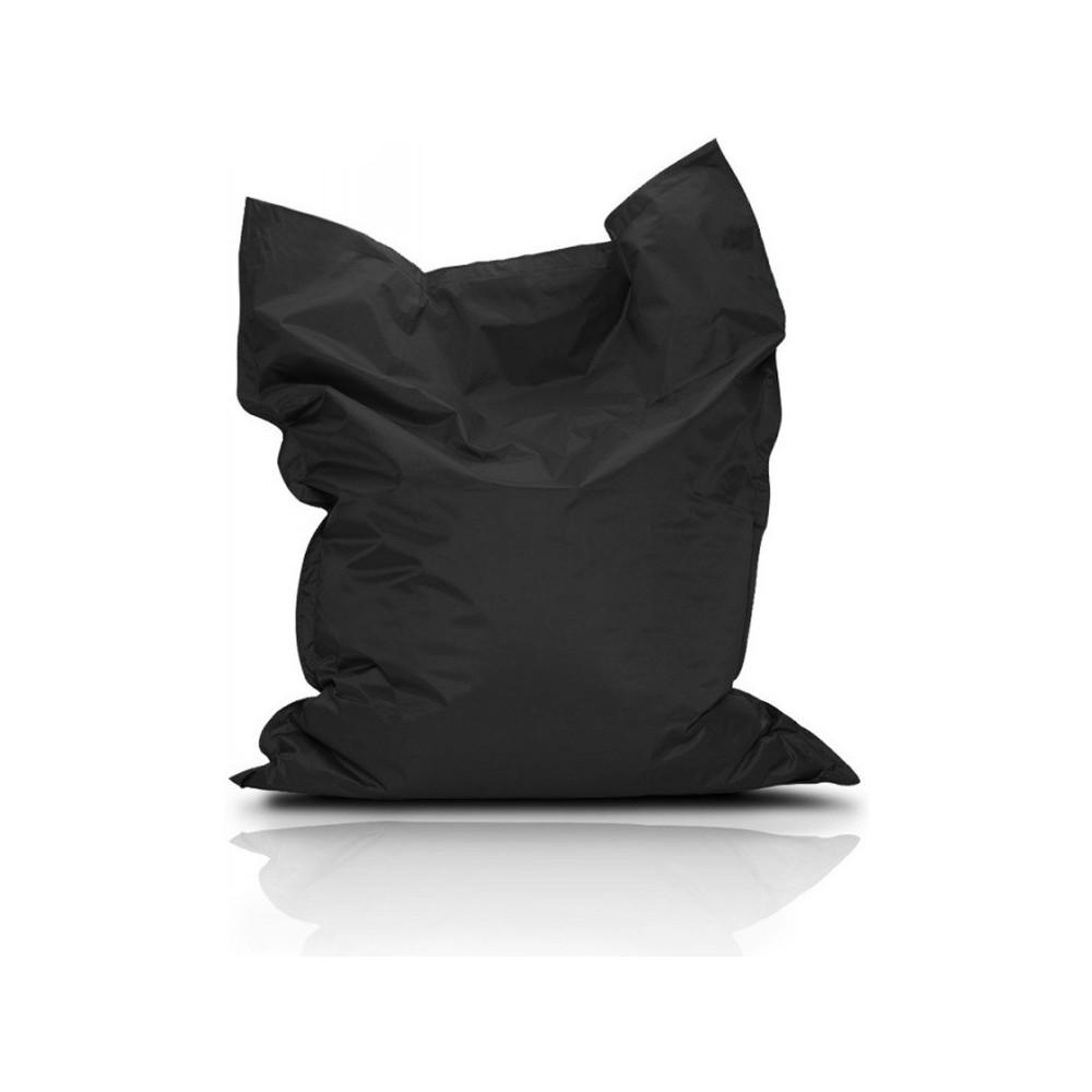 CrazyShop Sedací vak Standard 144×180 cm, čierny