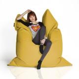 CrazyShop Sedací vak Standard 144×180 cm, žltý