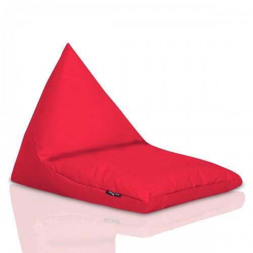 Sedací pytel CRAZYSHOP TRIANGL S, červená