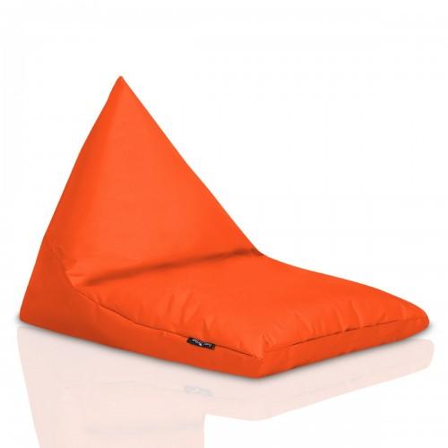 Sedací pytel CRAZYSHOP TRIANGL S, oranžová