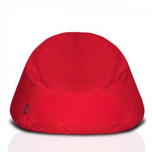 CrazyShop Sedací vak COOL, červený