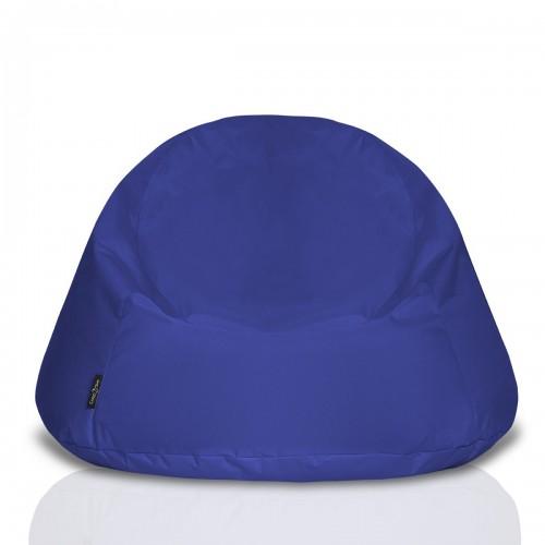 CrazyShop Sedací vak COOL, tmavo modrý