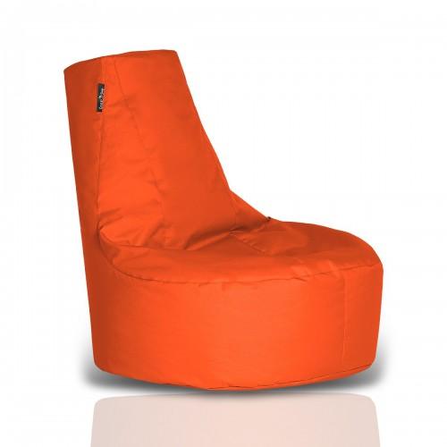 CRAZYSHOP Sedací vak-kreslo, oranžová