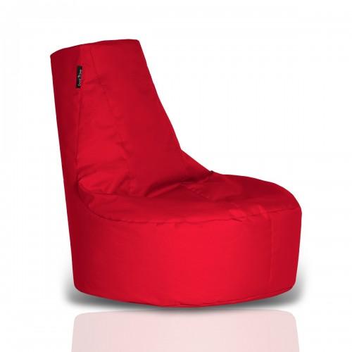 CRAZYSHOP Sedaci vak-kreslo, červená