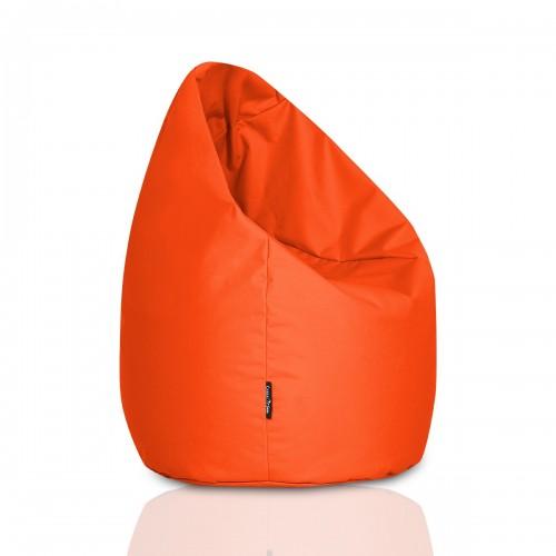 CrazyShop Sedací vak HRUŠKA MEGA, oranžový